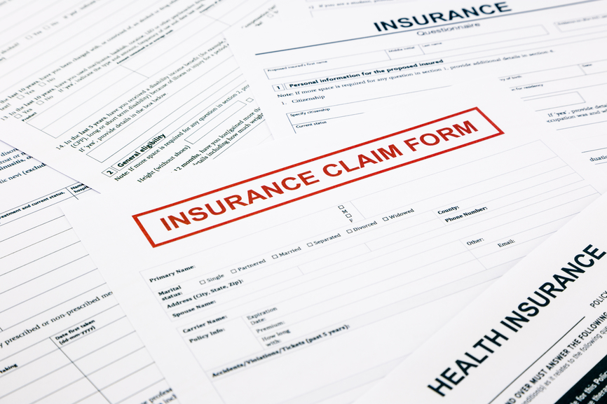 Macomb Law Group | Auto Insurance attorneys | image of an insurance claim